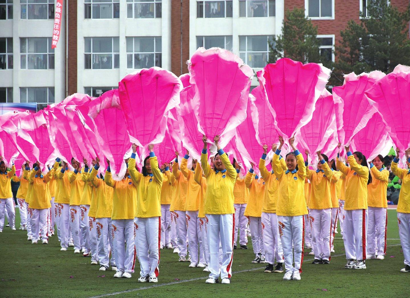 让青春在激情中绽放-吉林华桥外国语学院校报电子版