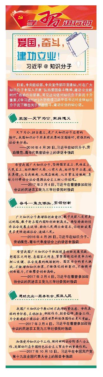 爱国,奋斗,建功立业!习近平@知识分子-长沙理工大学校报电子版