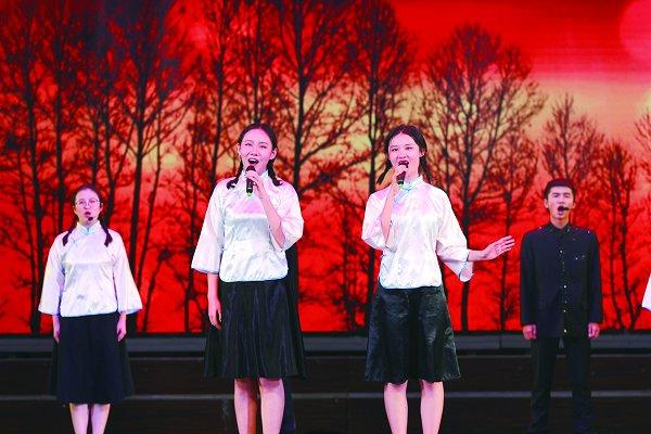 图片新闻 ――――――校庆专场演出举行