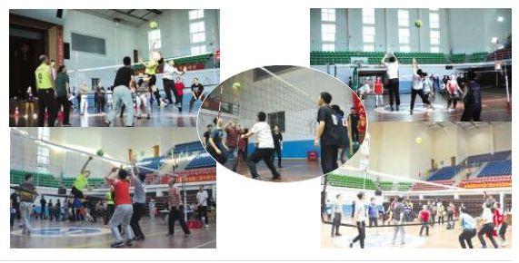 与球共舞, 尽享运动人生-湖南科技学院校报电子版