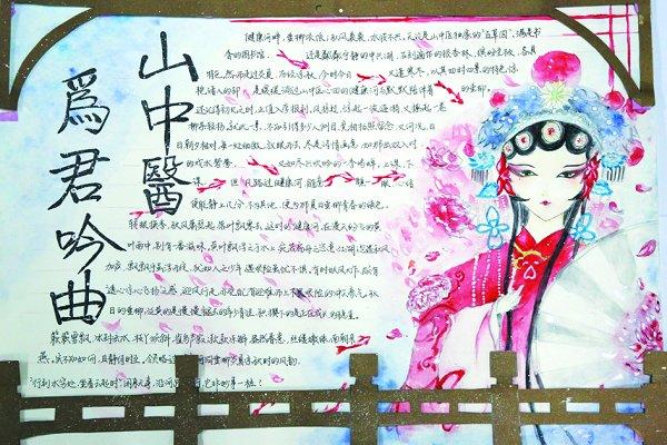 """""""相遇山中医""""手抄报比赛获奖作品展示-山东中医药大学"""