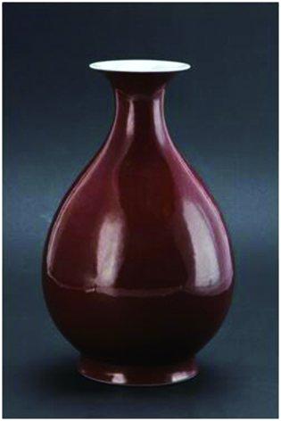 博物馆藏珍清光绪款霁红釉玉壶春瓶赏析-吉林大学校报电子版