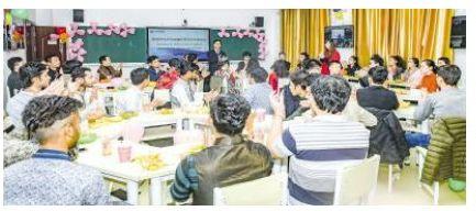 学校举行国际学生交流座谈会-湖南科技学院校报电子版