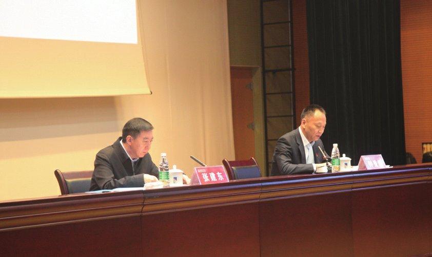 张建东副市长鼓励我校为服务冬奥,服务教育强国、体育强国多作贡献