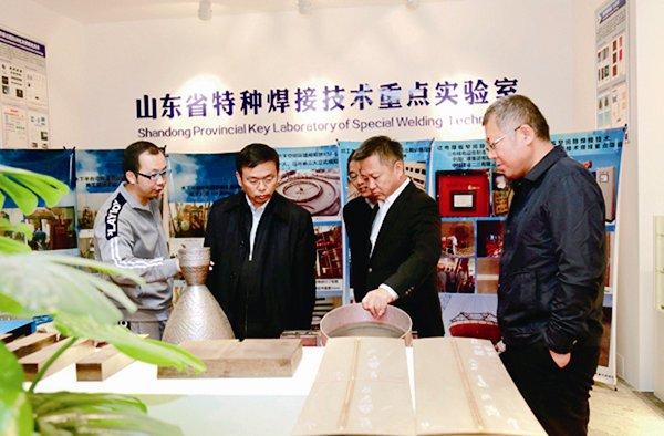中央纪委驻工业和信息化部纪检组副组长李志宏来校区调研