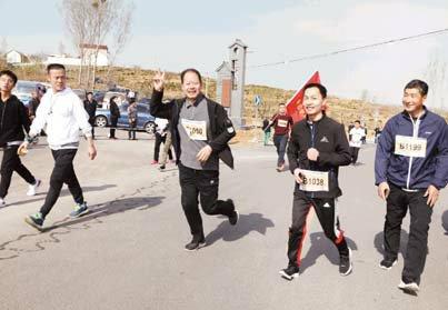 挑战马拉松助力健康中国———我院组队参加临沂美丽乡村迷你马拉松平邑分站赛