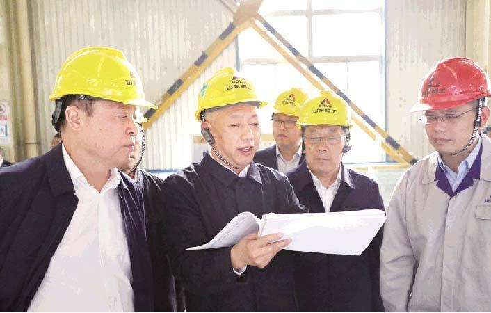 副省长凌文到公司调研指导『不忘初心牢记使命』