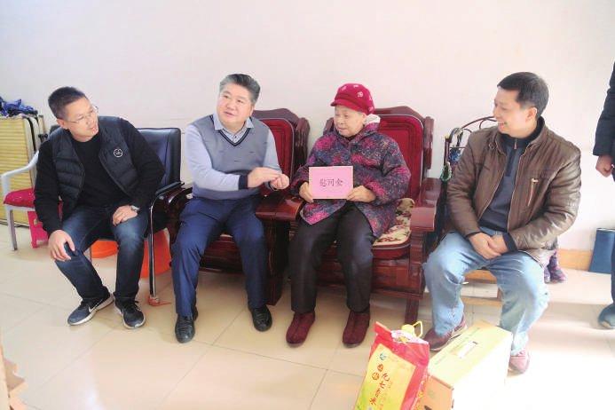 明阳农场公司开展春节走访慰问活动