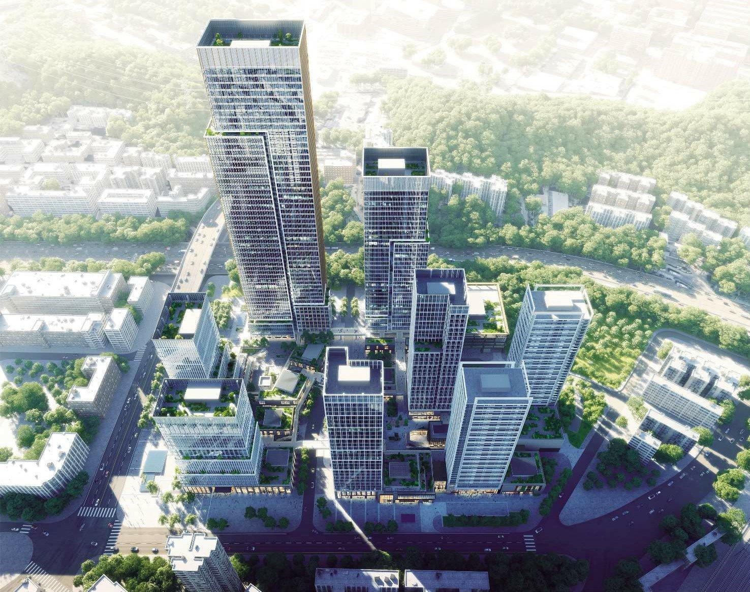 华南公司中标25亿元深圳长城国际物流中心项目