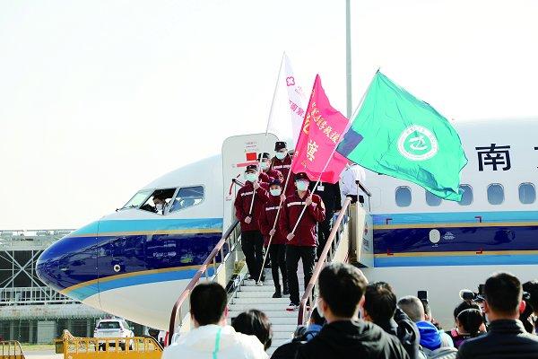 欢迎回家!郑州大学附属医院支援湖北医疗队陆续凯旋归来