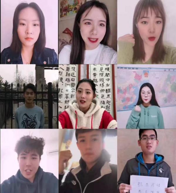 我校近500名学子参与录制暖心视频 为武汉加油