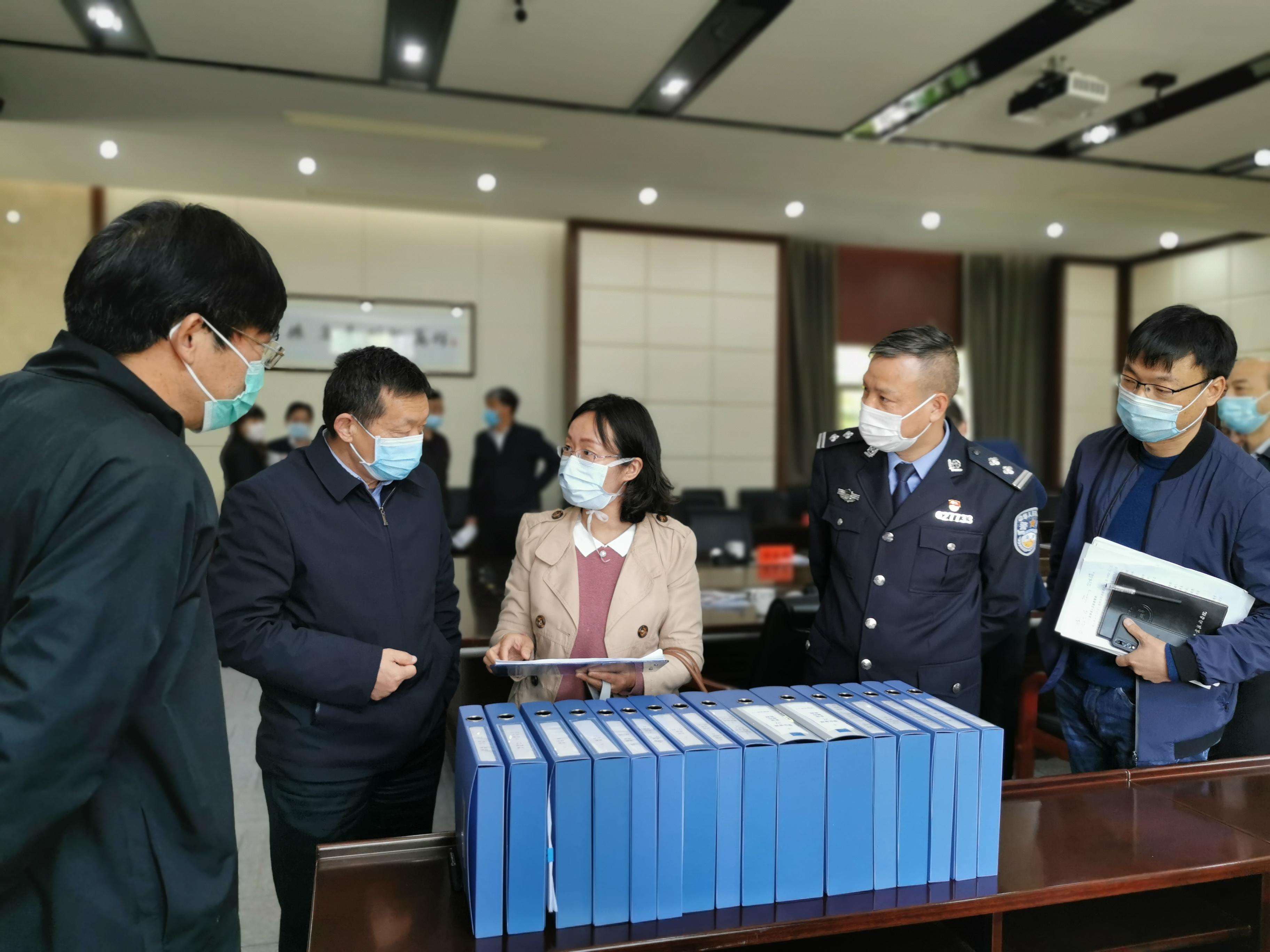 学校顺利通过宁波市教育局返校复学检查核验