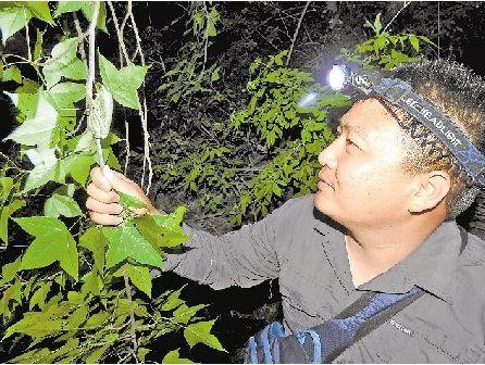扎根大地领略自然之道———访生命科学学院赵海鹏副教授
