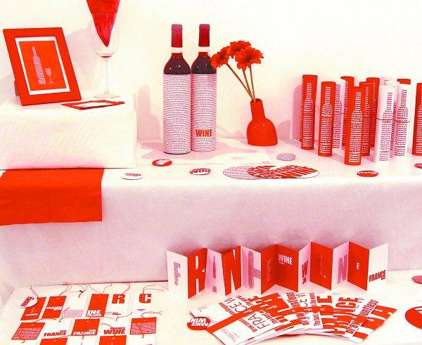 数字艺术系2009级视觉传达专业——红酒系列海报设计作品.