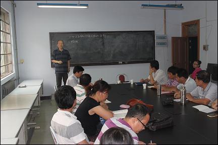 经济与管理学院举办党员教师学习交流会
