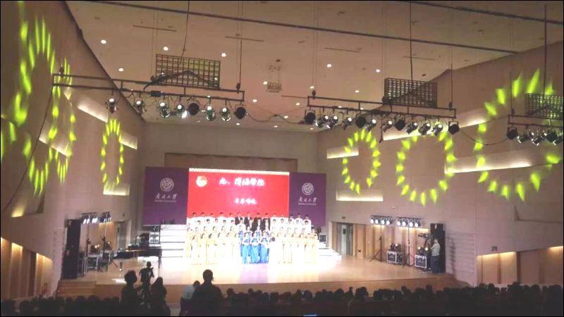 """学院合唱团参加南开大学""""五月的鲜花""""合唱比赛取得三连冠-南开大学滨海学院校报电子版"""