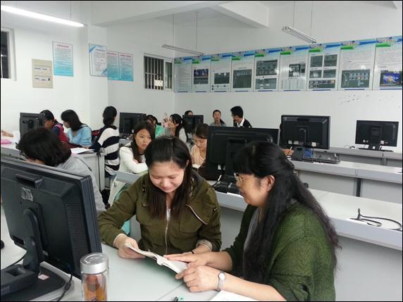 """推广普通话 """"专家来找茬""""-蚌埠学院校报电子版"""