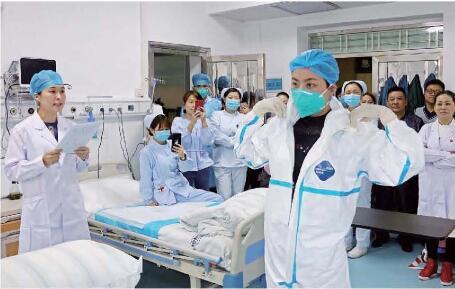 我院举行突发人感染H7N9禽流感应急演练