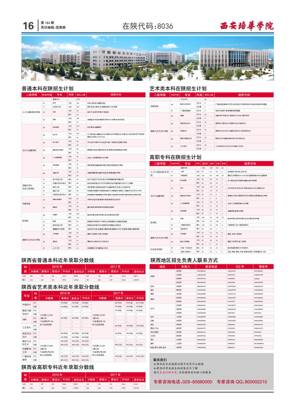 在陕代码:8036-西安培华学院校报电子版