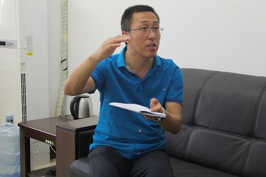 励学求真知   厚德润桃李 ――访商学院副院长郑阿泰副教授
