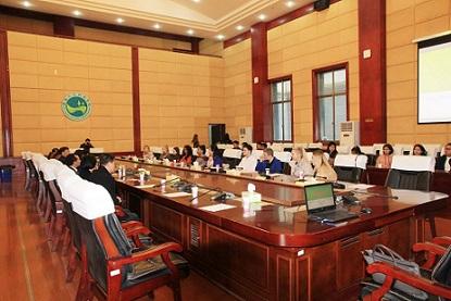 英国德蒙福特大学师生代表团来我校交流访问-湖南人文科技学院校报电子版