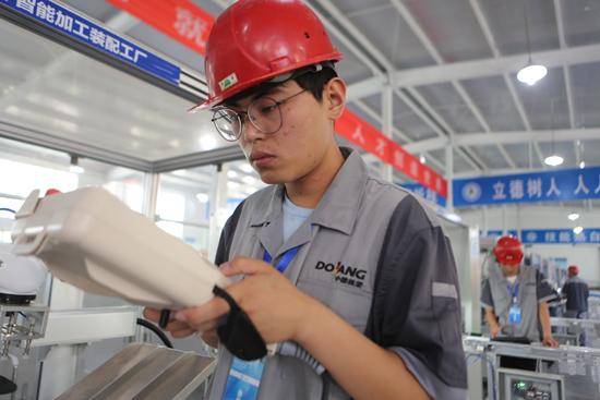 全国机械行业职业院校技能大赛在学院举行